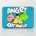 Angry Spongebird - Angry Birds vs SpongeBob iPad Case