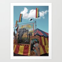 Welcome To The Freak Sho… Art Print