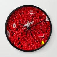 Oppression - Man Wall Clock