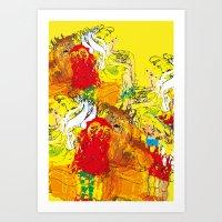 fairytales Art Print