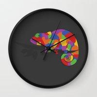 World's Worst Chameleon Wall Clock