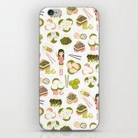 Dim sum pattern iPhone & iPod Skin