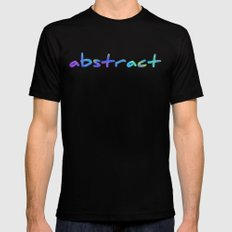 Psychedelic Mushrooms Effects SMALL Mens Fitted Tee Black
