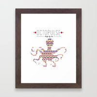 Octopulse | Design By Se… Framed Art Print