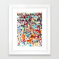 A Study in Unconscious Collaboration Framed Art Print