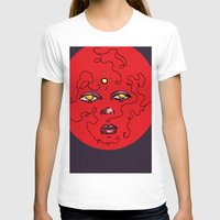 Enlighten Lust Womens Fitted Tee White SMALL