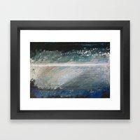 Layered Narrative Framed Art Print