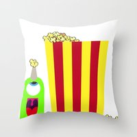 Bubol POP Throw Pillow