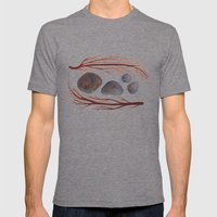 Sticks & Stones No. 2 Mens Fitted Tee Tri-Grey SMALL