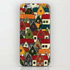 Small Mosaic Village iPhone & iPod Skin