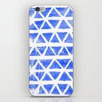 Triangle Stamp iPhone & iPod Skin