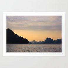 Halong Bay, Vietnam.  Art Print