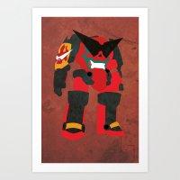 Gurren Art Print