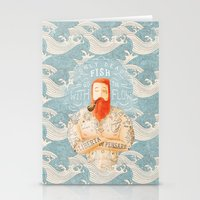 waves Stationery Cards featuring Sailor by Seaside Spirit