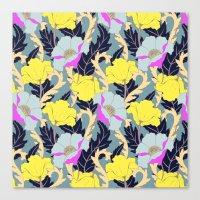 June Yellow Canvas Print