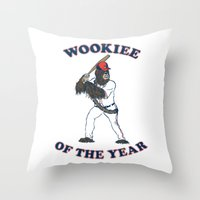 Wookiee Of The Year Throw Pillow