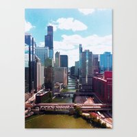 Chicago River View II Canvas Print