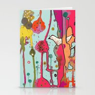 Une Chanson Stationery Cards