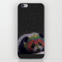Rainbow Panda iPhone & iPod Skin