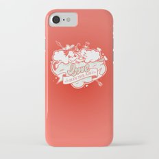 Love is in the air iPhone 7 Slim Case