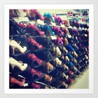 Shoes Matter Art Print