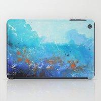 Blue Suede Blues iPad Case