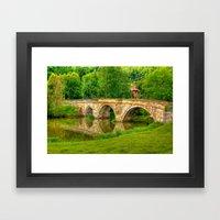 Kirkham Bridge - River D… Framed Art Print