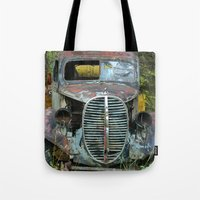 OldTruck Tote Bag