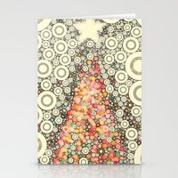 Christmas Joy -- Abstrac… Stationery Cards