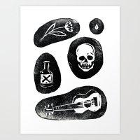 Singing Bones Art Print