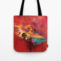 Uncaged Tote Bag