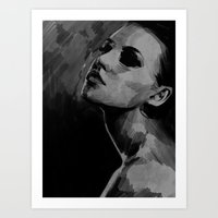 lovely girl Art Print