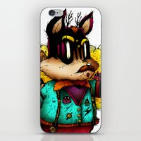 Watch & Learn Dear Creatures (Color Version) iPhone & iPod Skin