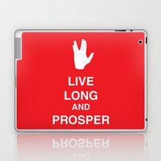 Live Long and Prosper Laptop & iPad Skin
