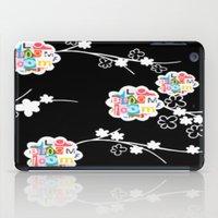 B&W Bloom iPad Case