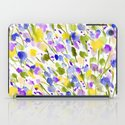 Wild Nature (Yellow and Blue) iPad Case