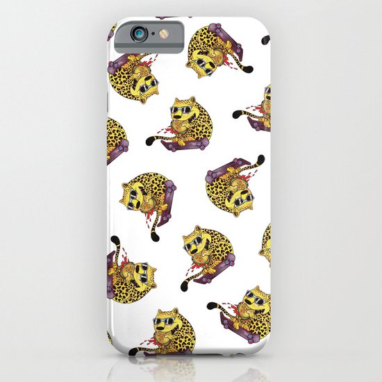 Skating Cheetah iPhone & iPod Case