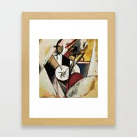 Study after Gleizes' Composition pour Jazz Framed Art Print