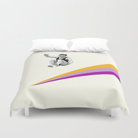 I Can Jump Higher Duvet Cover