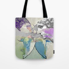 Ghost in the Stone #2 Tote Bag