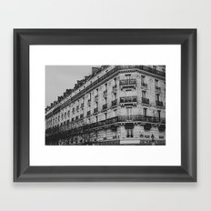 Bits of Paris Framed Art Print