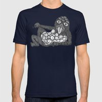 lollipop monster 2 Mens Fitted Tee Navy SMALL