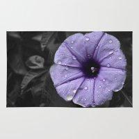 Color my Garden Purple Rug