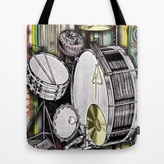 Drum Kit Tote Bag