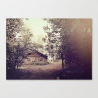 Where The Forest Creatur… Canvas Print