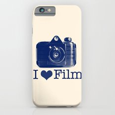 I ♥ Film (Blue/Peach) iPhone 6 Slim Case