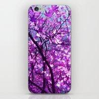 purple tree XXXIII iPhone & iPod Skin