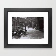 Beijing streets Framed Art Print