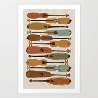Vintage Instrument Colle… Art Print