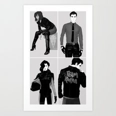 Team Korra Art Print